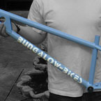 Bridge 24 inch freeride frame