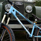 Bungalow-Bikes Landrover series 1 mountain bike